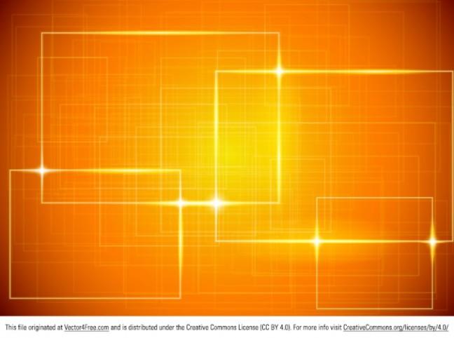 Shiny Orange Vector Background – High Graphic | Photoshop ...